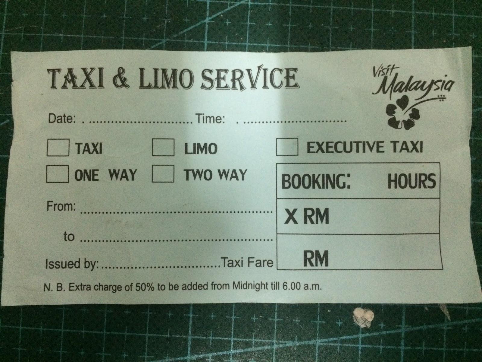 parse906  malaysia taxi  u0026 limo service bill