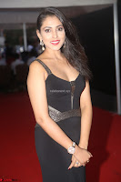Madhu Shalini in a Glamorous Deep neck Black Sleeveless Dress at Mirchi Music Awards South 2017 ~  Exclusive Celebrities Galleries 046.JPG