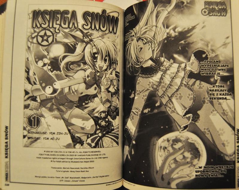 Mangazyn Extra manhwa, manga