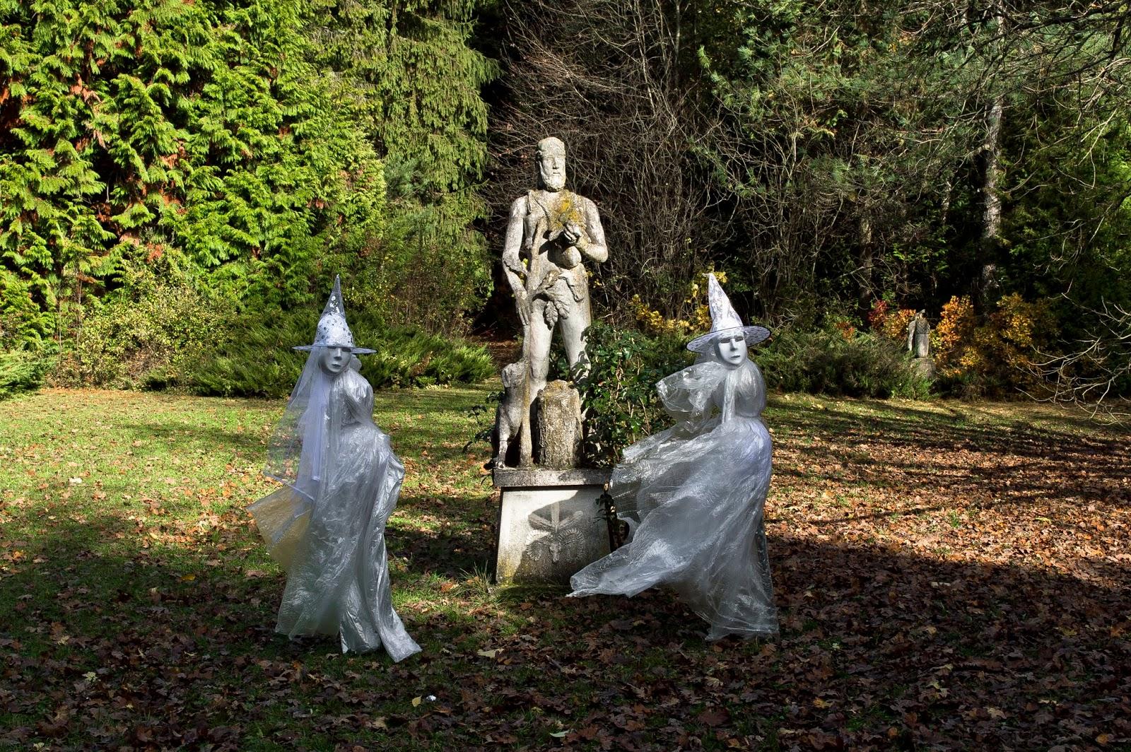 Szellemjárás a Budakeszi Erdészeti Arborétumban