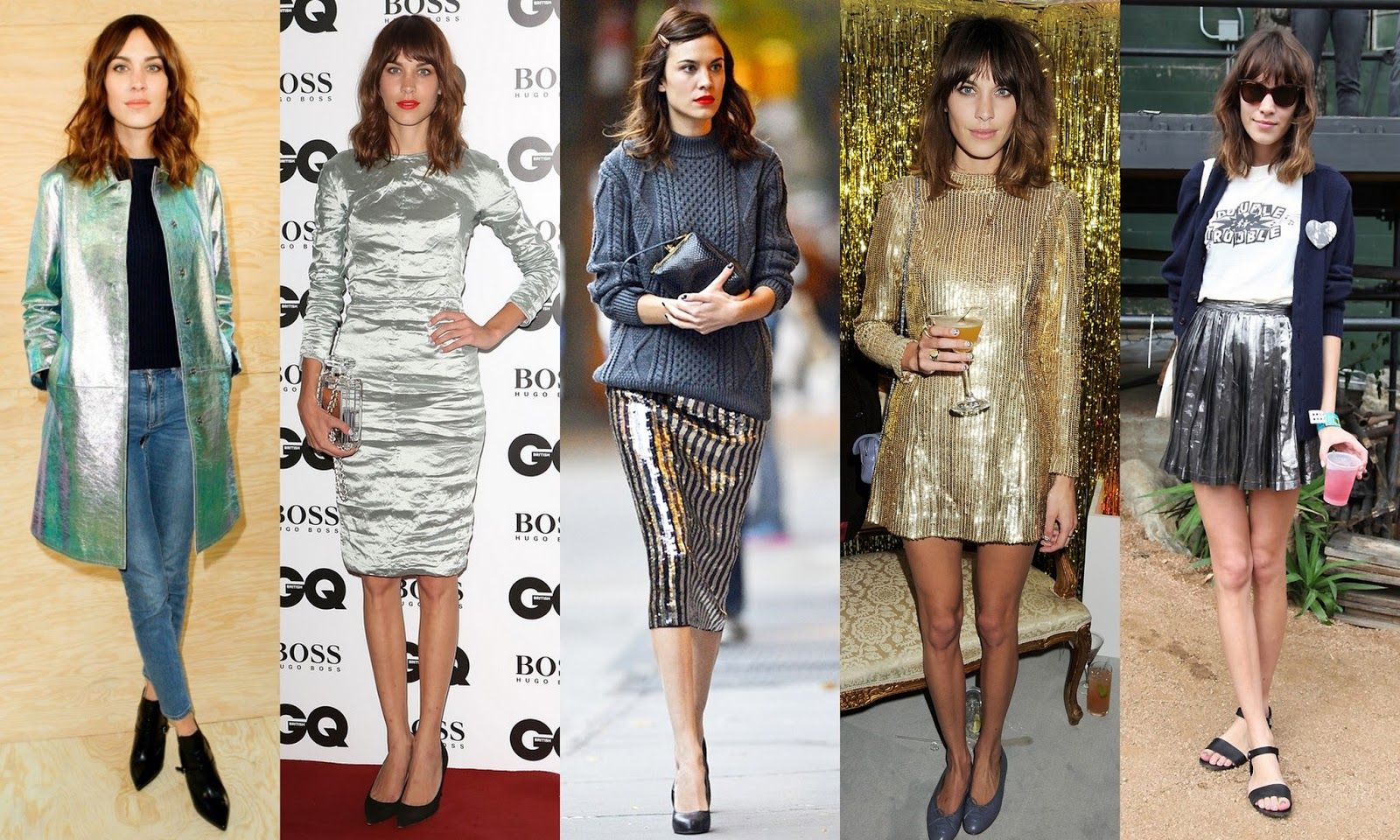 Frills And Thrills Get The Alexa Chung Look