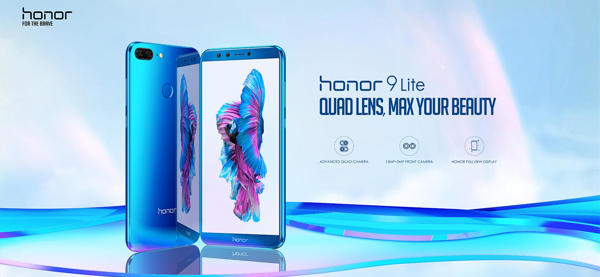 Honor 9 Lite Honor Indonesia Quad lens max your beauty