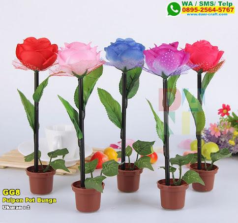 Pulpen Pot Bunga