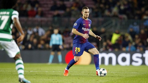 Thomas Vermaelen vẫn chưa đóng góp trận nào cho Barca ở Champions League mùa này vì chấn thương ở bắp đùi.