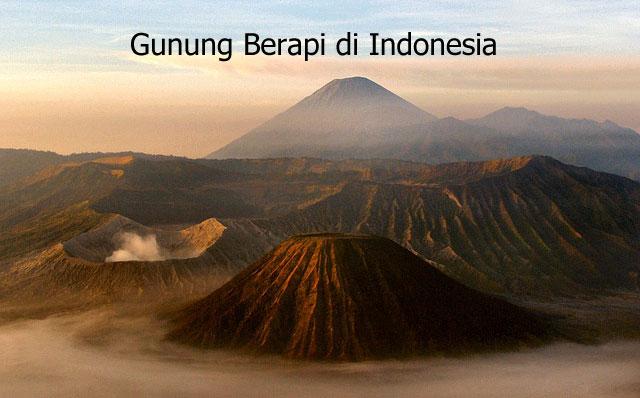 gunung berapi di indonesia
