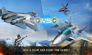 Download Air Combat OL Team Match MOD APK DATA