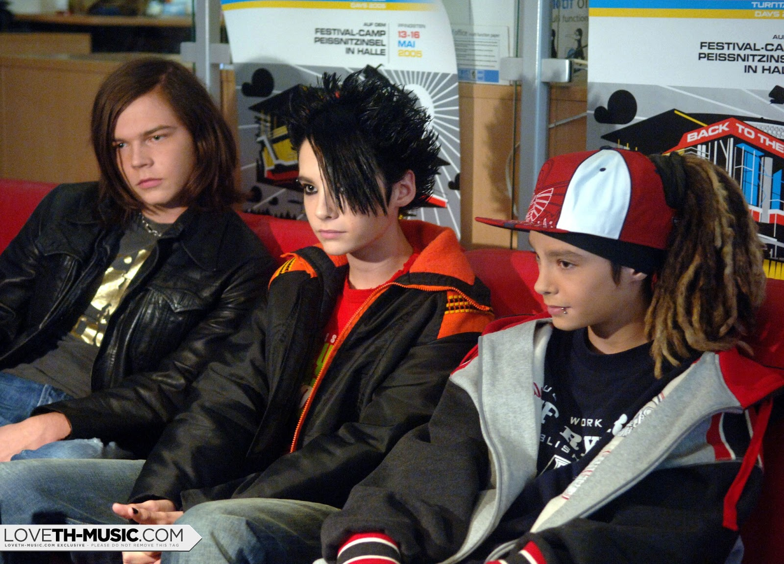 New old hq pics tokio hotel interview at sputnik for Tokio hotel