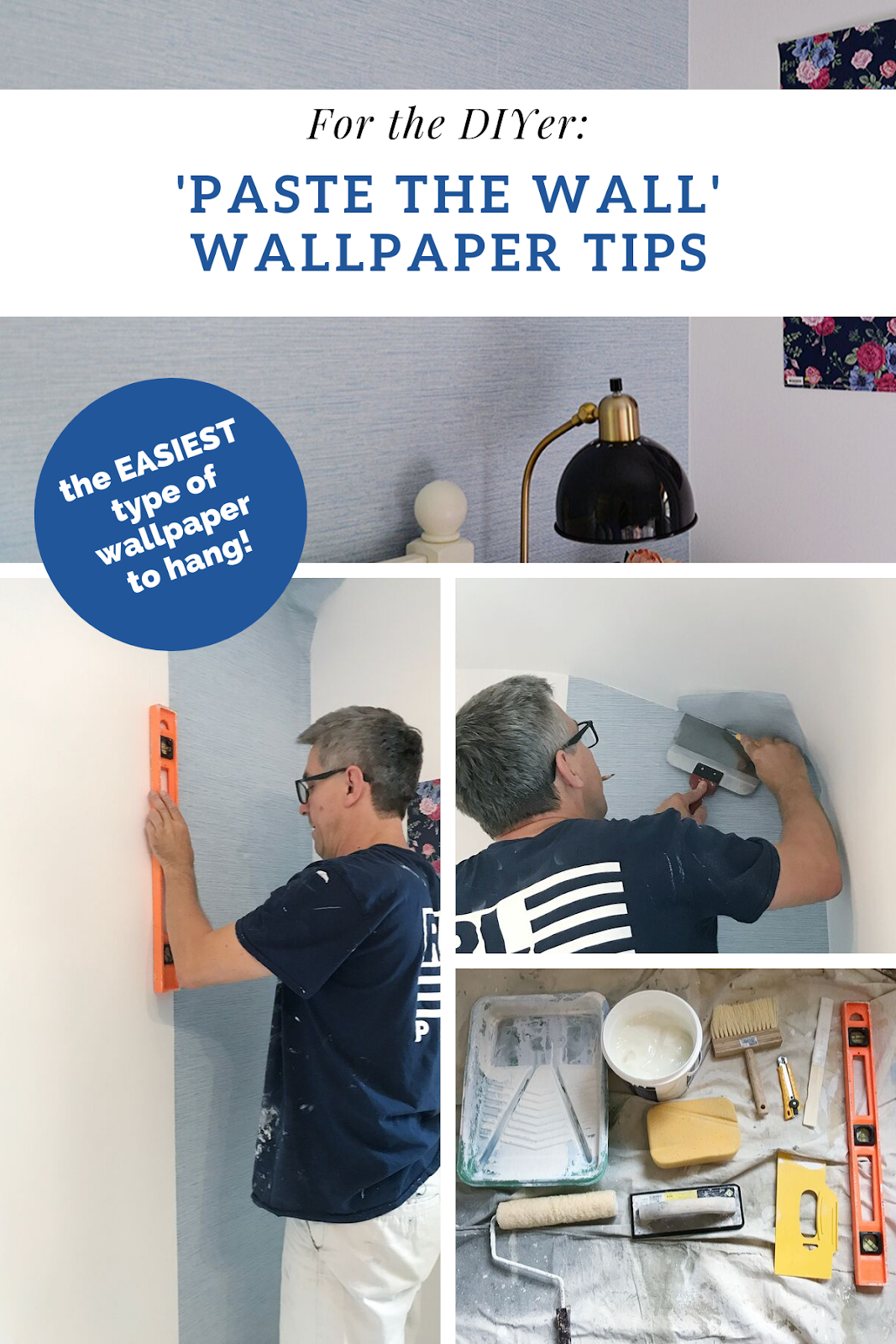 paste the wall wallpaper tips, paste the wall, blue grasscloth wallpaper, how to hang paste the wall wallpaper
