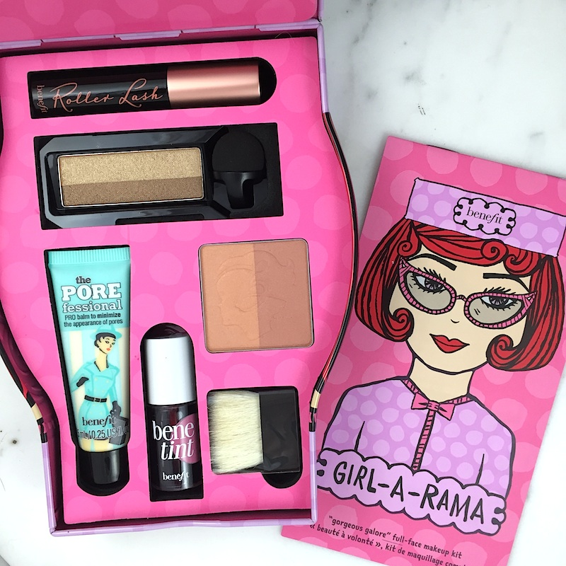 Benefit Cosmetics Holiday 2016 gift sets Girl-a-Rama and Gals Just Wanna Have Fun a quick review