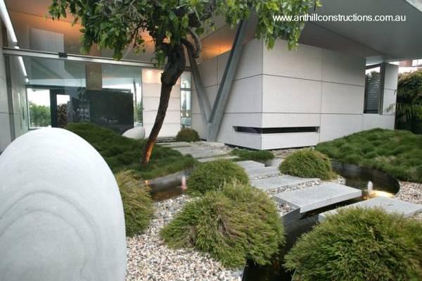 Australia arquitectura de casas for Casa moderna jardines