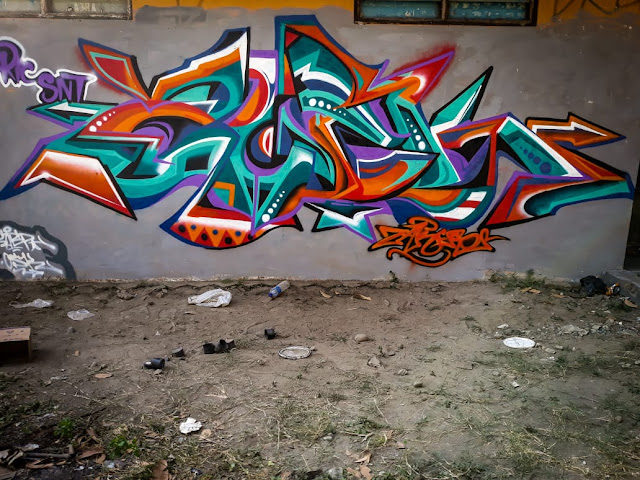 Contoh Gambar Grafiti Keren, Simpel, dan Mudah di TIiru