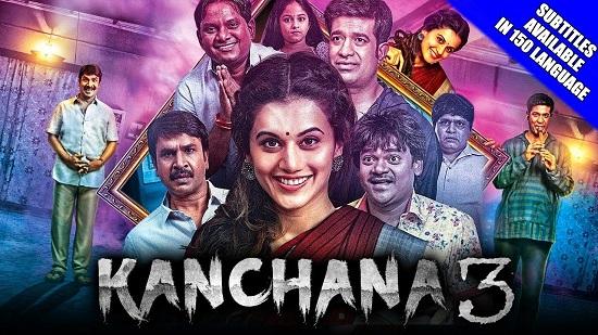 Kanchana 3 2018 Hindi Dubbed 300MB HDRip 480p