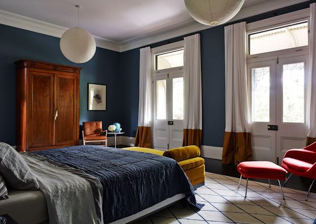 Noir blanc un style - Interieur eclectique maison citiadine arent pyke ...
