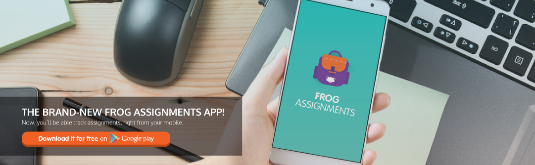 Introducing the Frog Assignments app, now available for FREE on Google ...