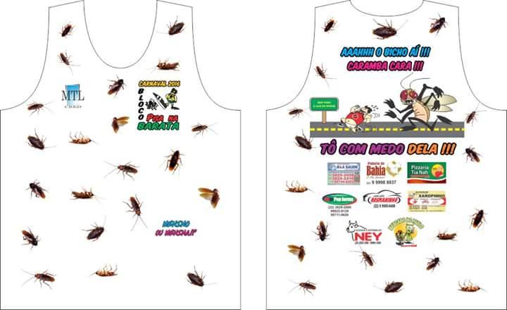 4a3f7592fd469 ... as camisas já estão sendo confeccionadas e qualquer dúvida procurar  pisa na barata