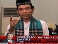 Mantab! Cukup Ustadz Abdul Somad di ILC tvOne Sikat Habisi LGBT