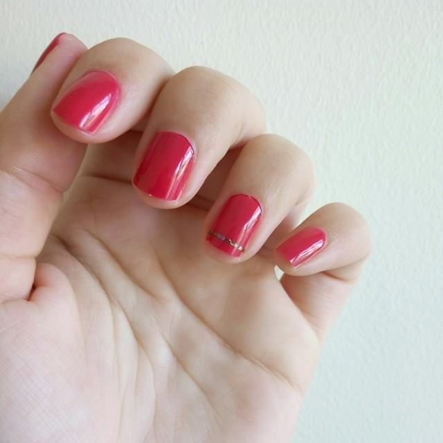 Unhas - A Little Bit Of Pink