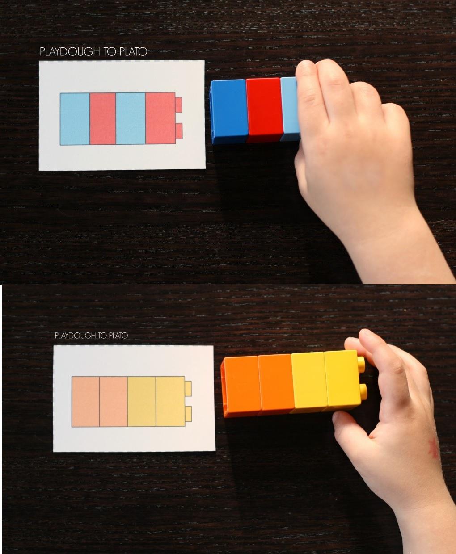 Lego Ile Oruntuler Okul Oncesi Yaratici Fikirler Blogu