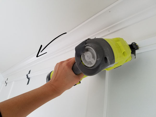 Installing wall trim alone - Handy tips
