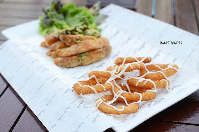 Roulette Crispy Potato Snack Plate - RM18+