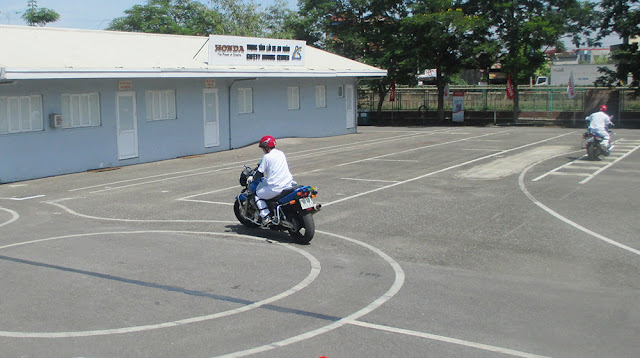 thi bằng lái xe mô tô A2