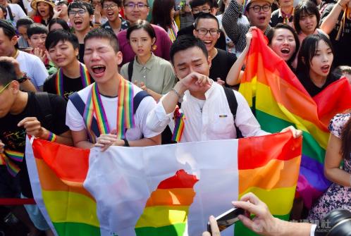Taiwan Jadi Negara Pertama di asia yang Melegalkan Pernikahan Sesama Jenis
