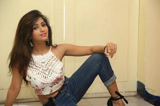 Deekshita Parvathi in a short crop top and Denim Jeans Spicy Pics Beautiful Actress Deekshita Parvathi January 2017 CelebxNext (162).JPG