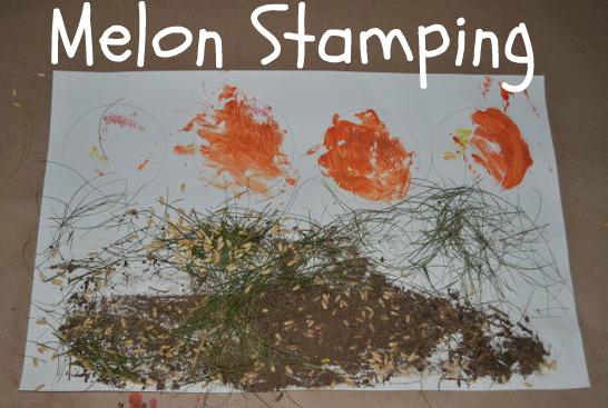 melon seed craft