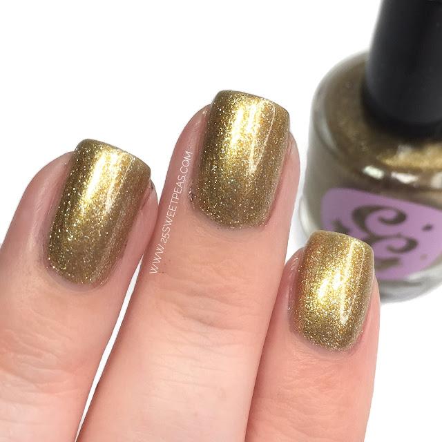 Chaotic Glitz Gold
