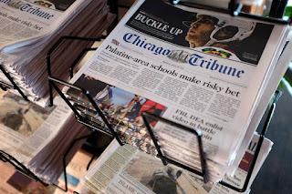 Gannett Ends Its Attempt to Buy Chicago Tribune Publisher Tronc