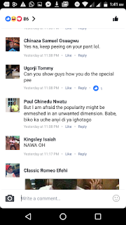 Girl Says She Pees On her Pant, People Goes Mad With Reactions On Facebook