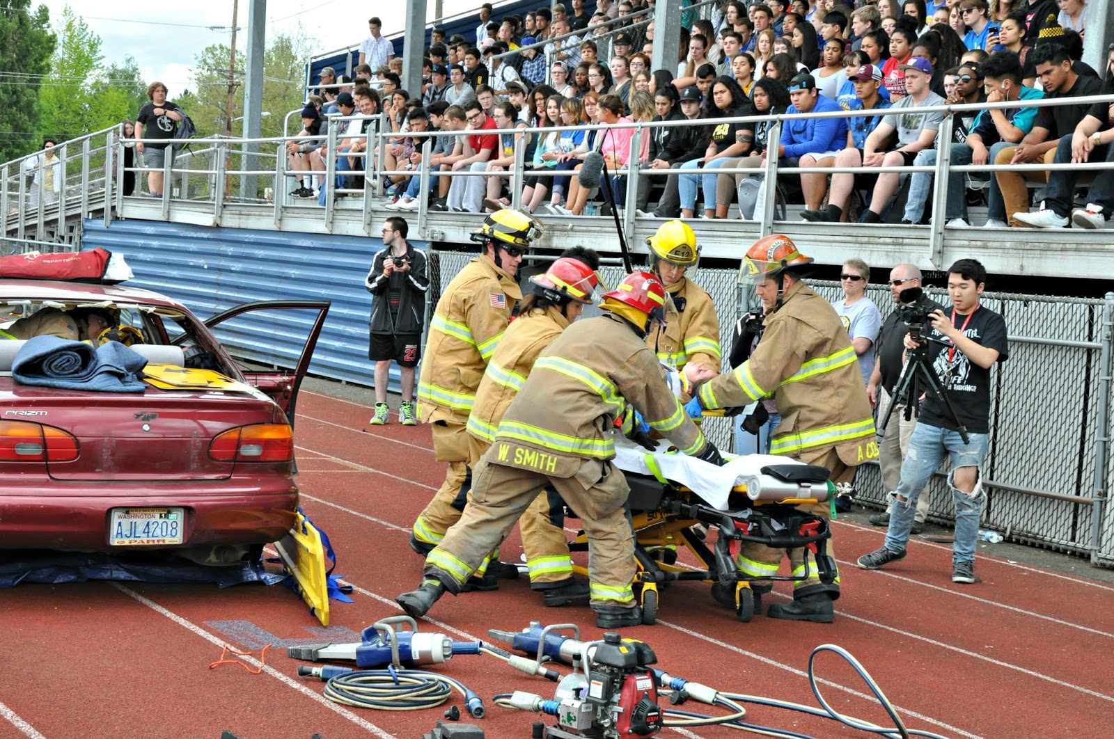 Tacoma Fire Department: Mock DUI simulation brings safety