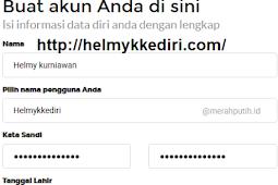 Cara membuat email dimerahputih.id gratis