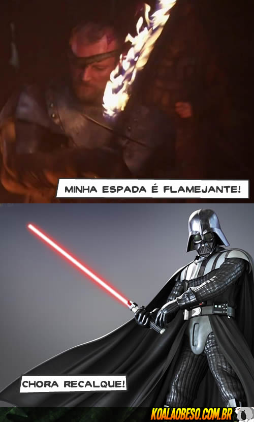Star Wars X Game of Thrones - Beric X Dart Vader