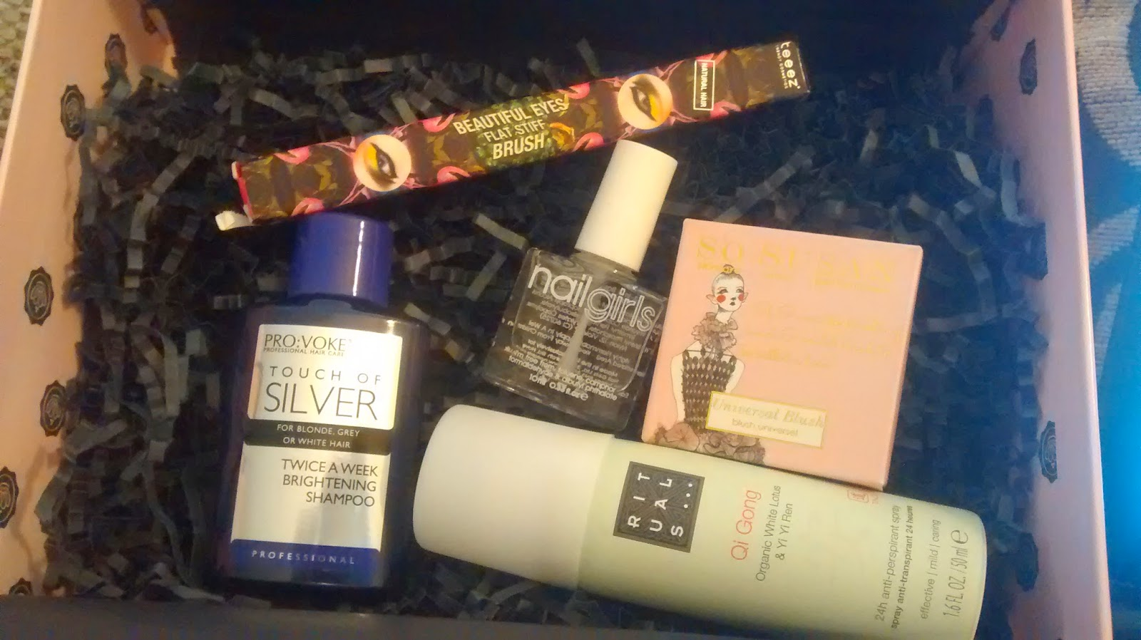 June Glossybox Contents