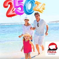 I… TAKIe KONTO premia 250 zł Eurobank biuro podróży ITAKA