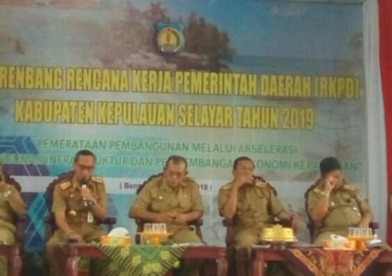 Pelaksanaan Musrenbang Kabupaten Kepulauan Selayar, Sepi Wakil Rakyat