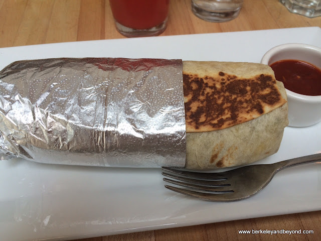 burrito at Papito Hayes in San Francisco