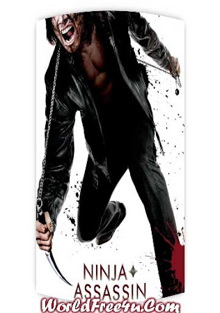 Poster Of Ninja Assassin In Dual Audio Hindi English 300MB Compressed Small Size Pc Movie Free Download Only At worldfree4u.com