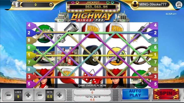 AGEN JUDI SLOT GAMES HIGHWAY KING DI OKE77.COM