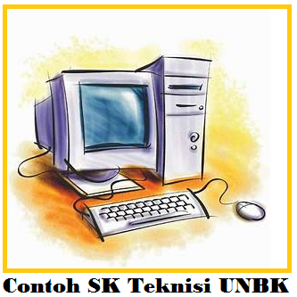 Contoh SK Penetapan Pengawas, Proktor dan Teknisi UNBK Format Word