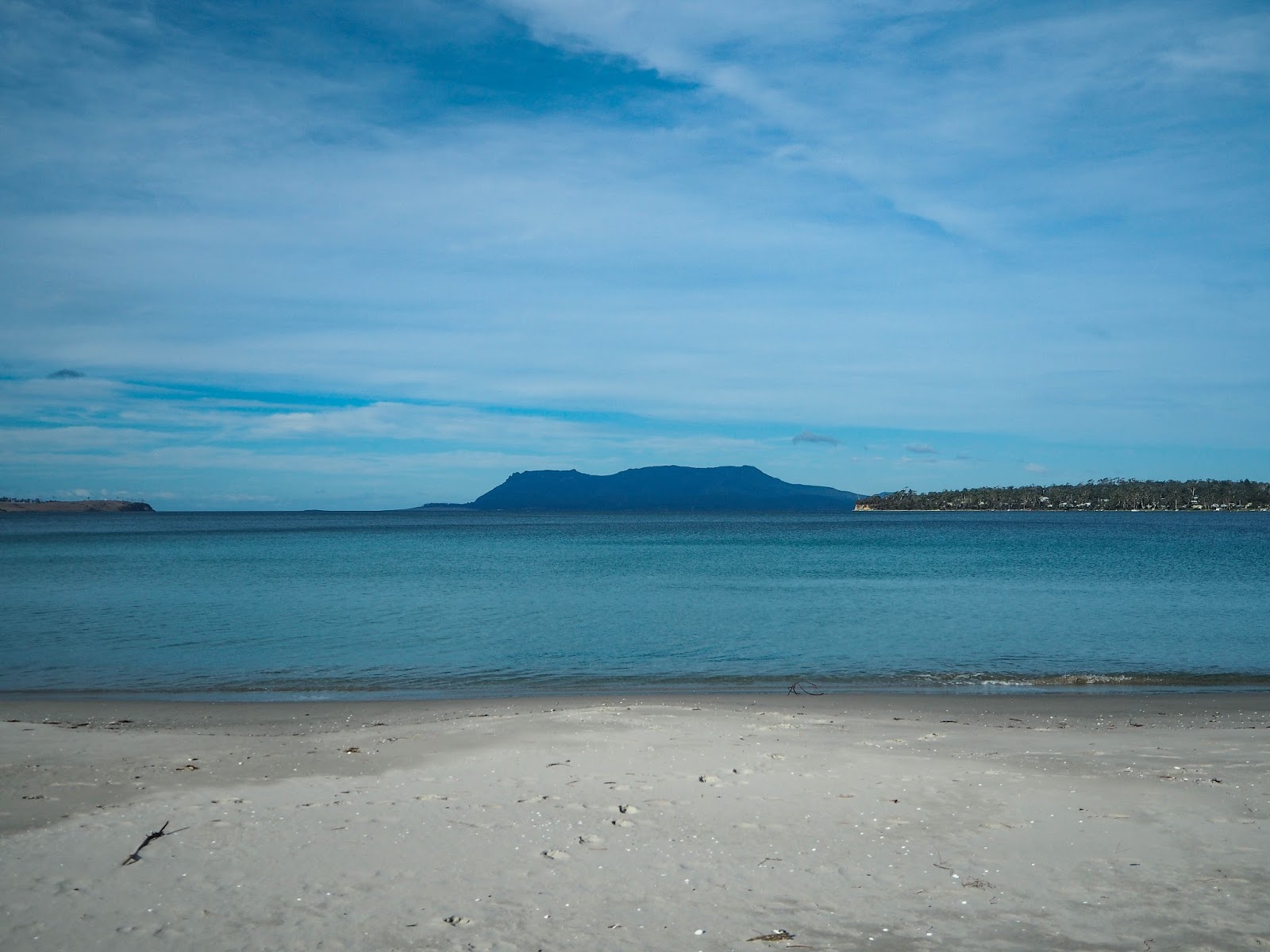 Maria Island from Orford, Tasmania