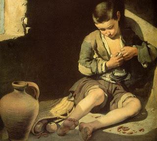 Niño espulgándose - Bartolomé Esteban Murillo