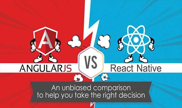 Angular vs React: An Unbiased Comparison to Help you Take the Right Decision