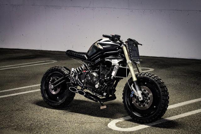 Kawasaki Ninja 650 By Droog Moto Hell Kustom