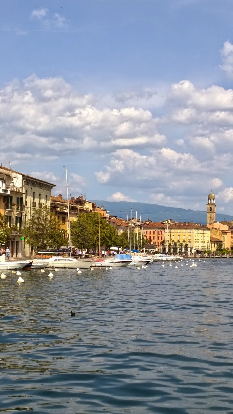 Lake promenade at Salò Lago di Garda, Lungo lago a Salò Lago di Garda