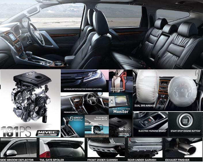 Kenamata: New Pajero Sport Ultimate- Spesifikasi Mitsubishi Pajero Sport 2017
