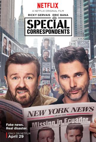 Special Correspondents Torrent – WEBRip 720p e 1080p Dual Áudio (2016)