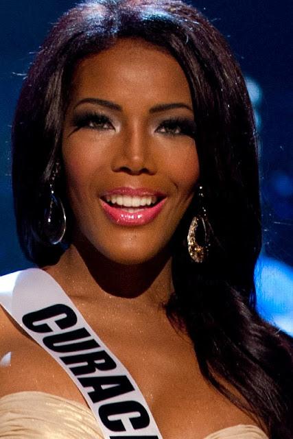 Maquiagem negras Miss Universo