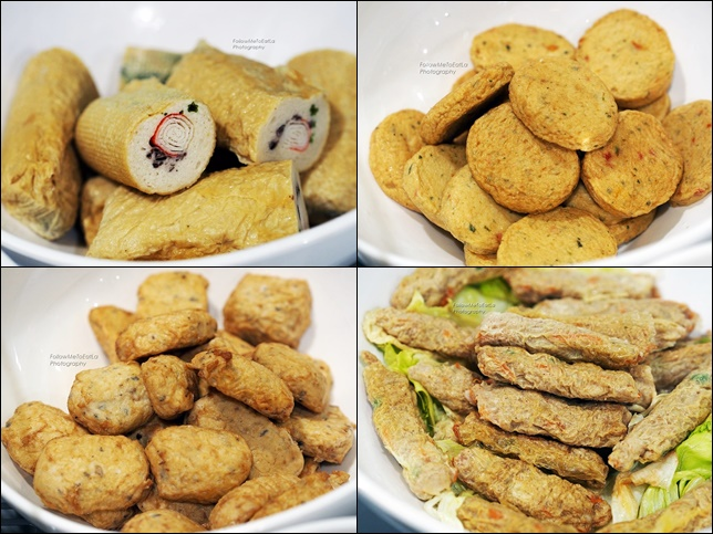 Choices of Fish Cakes, Pork Rolls, Mixed Meat Rolls RM 6.99 Per 100 gm
